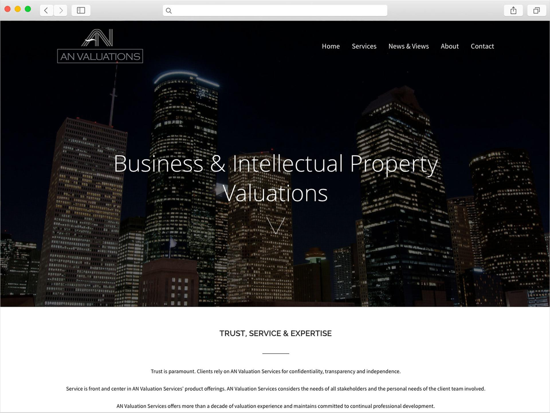 anvaluations-website