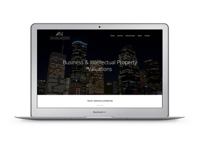 Website voor AN Valuations
